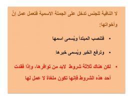 Photo of لا النافية للجنس شروط عملها وحالات اسمها وأنواع خبرها مع الأمثلة والإعراب