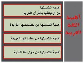 Photo of أهمية اللغة العربية الدينية والحضارية والاقتصادية والإنسانية